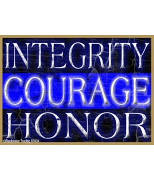 Integrity CourageHonor Magnet