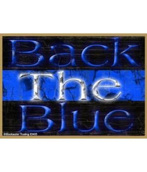Back The Blue  Magnet