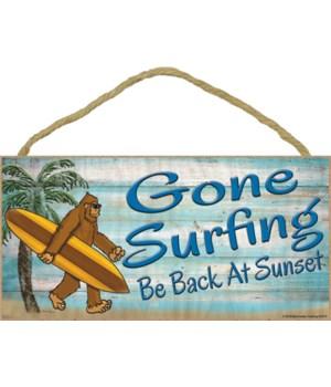 Bigfoot gone surfing