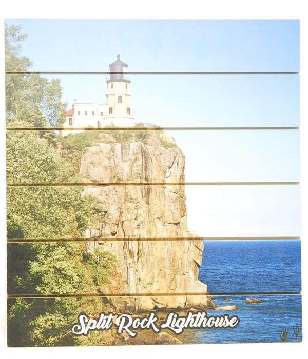 *Split Rock Lighthouse Pallet Sign