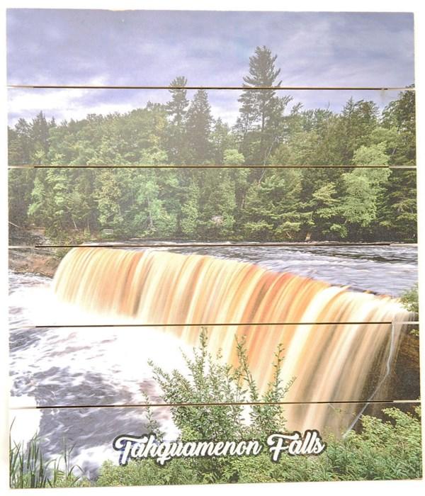 *Tahquamenon Falls Pallet Sign
