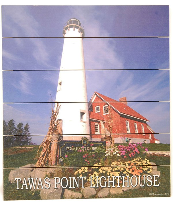 *Tawas Lighthouse Pallet Sign