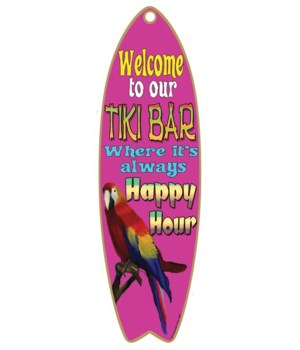 Welcome to our tiki bar - happy hour - p