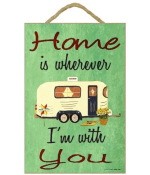 Home is where I'm with you - travel trai