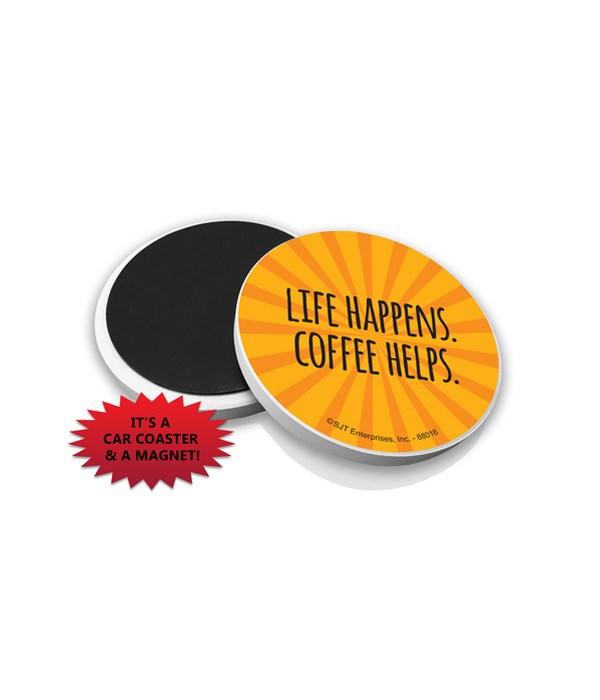 Life happens. Coffee helps.