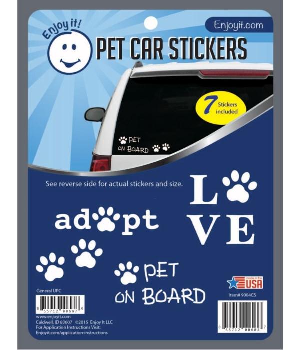 Pet Car Stickers