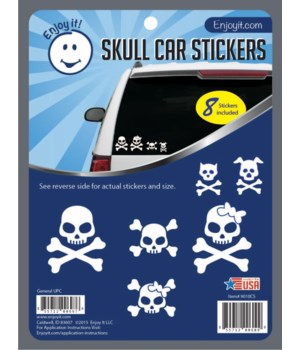 Skull Car Stickers