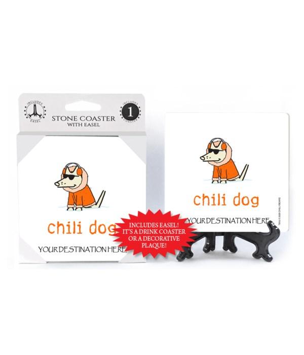 Chili Dog - Orange snow suit