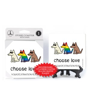 Choose Love - White bkgd