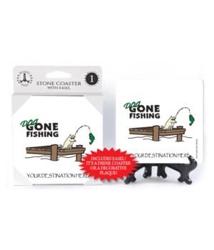 Dog Gone Fishing - Pier fishing