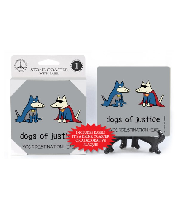 Dogs of Justice - batman and superman (d