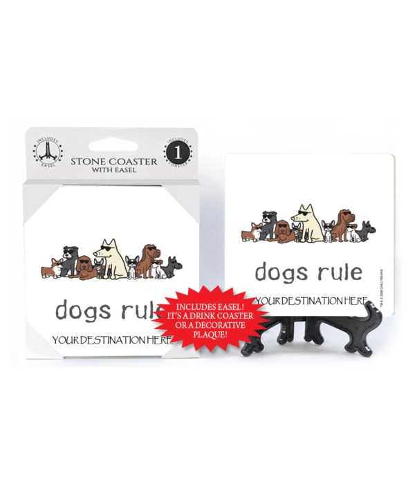 Dogs Rule - group of dogs