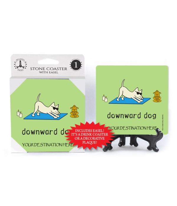 Downward Dog - yoga