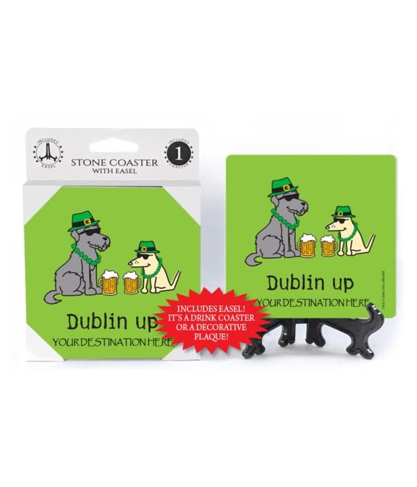 Dublin Up - St. Patrick's gear, 2 dogs
