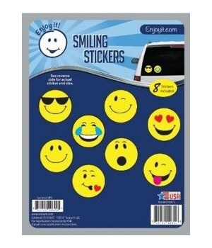 Smiling Car Stickers