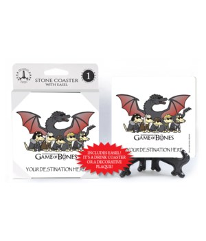 Game of Bones - Dragon and dog character