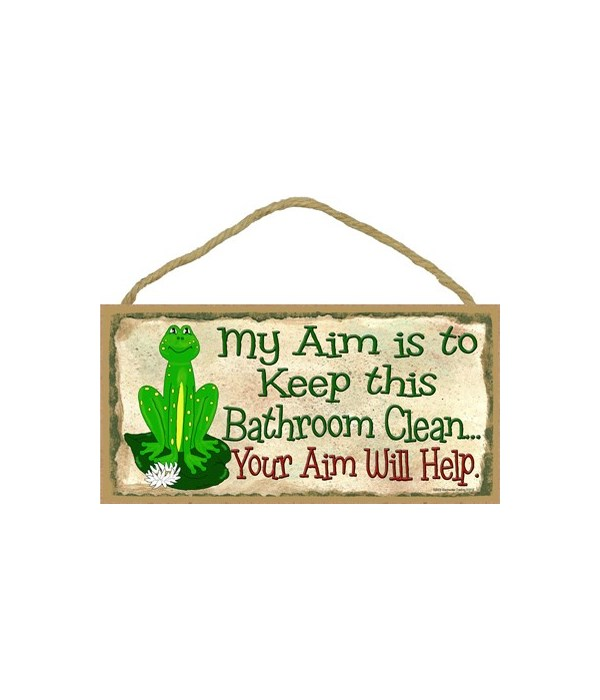 Frog - Aim to keep this bathroom clean 5