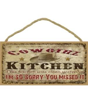 *cowgirl kitchen-kitchen was clean Tter