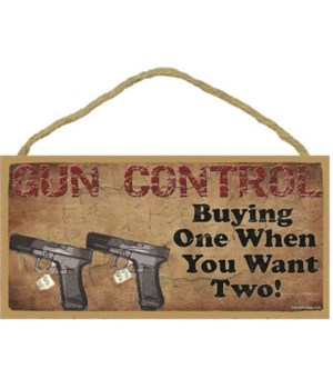 Gun Control- Buying One When You Want Tw