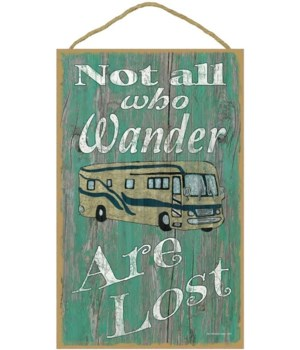 Not all who wander - motorhome (green bk