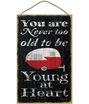 You are never too old to be young - tear