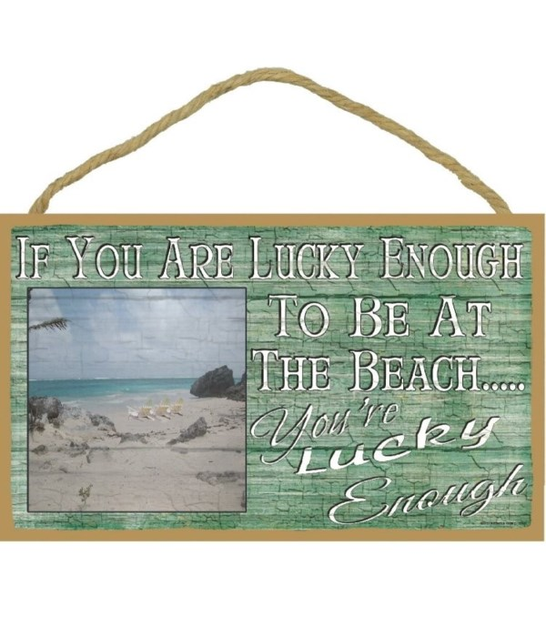If your lucky enough to be at the beach