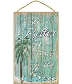 Life is better in a cottage by the sea