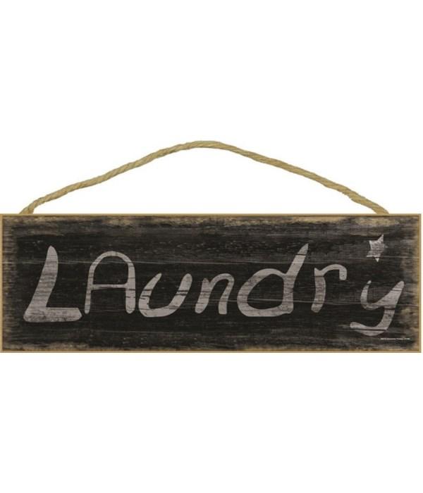 Laundry - black worn look
