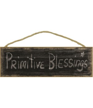 Primitive Blessings - black worn look