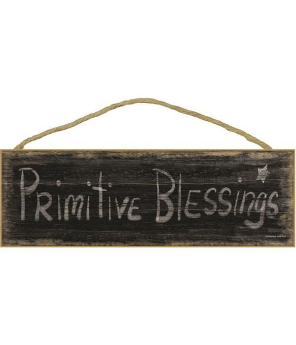 Primitive Blessings - black worn look