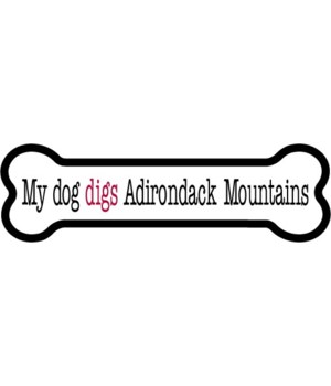 Adirondacks Bone Magnet
