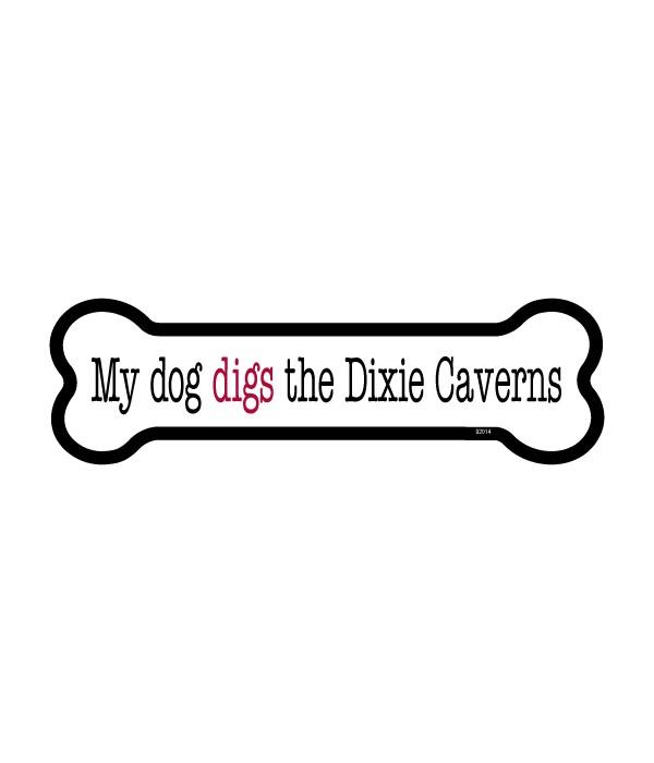 Dixie Caverns bone magnet
