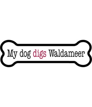 My dog digs Waldameer