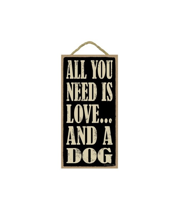 All You Need Is Love And A Dog 5x10