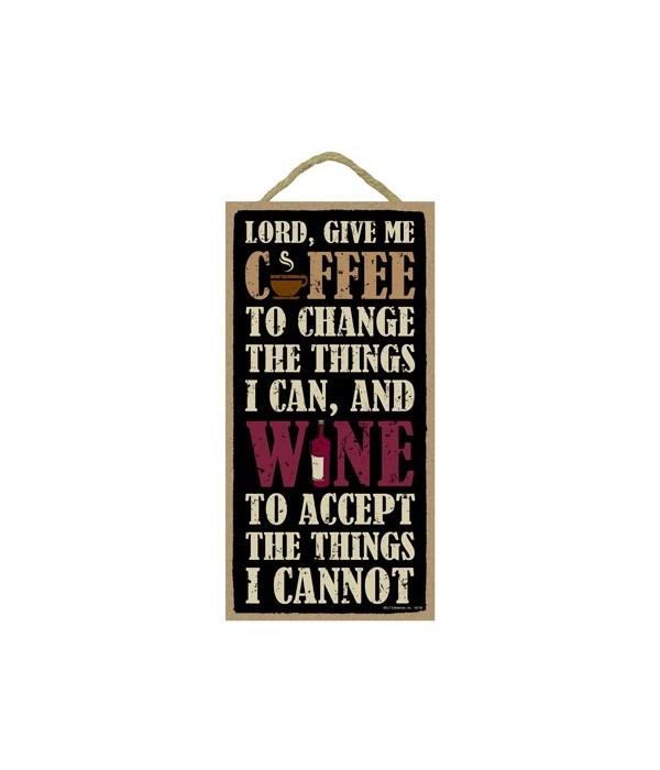 Lord, Give Me Coffee to change the thing