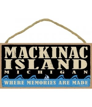Mackinac Island Primal Memory plaque