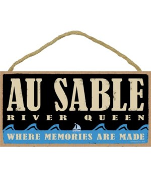 Au Sable Riverqueen Primal Memory plaque