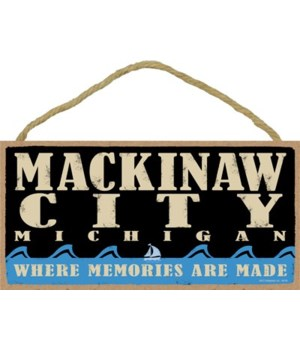 Mackinaw City Primal Memory plaque