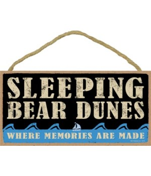 Sleeping Bear Primal Memory plaque