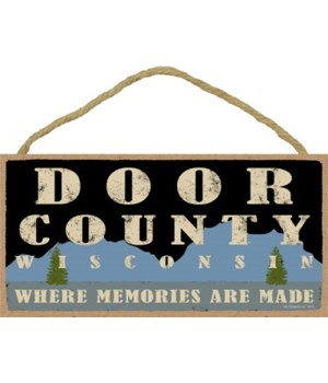 Door County WI Where Memories Made 5X10