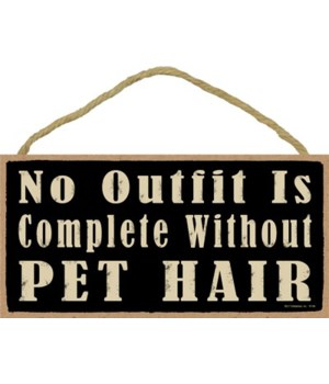 No outfit is complete without pet hair 5