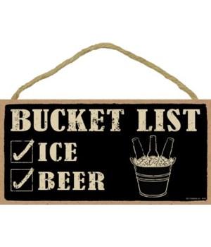 Bucket list (ice & beer) 5x10