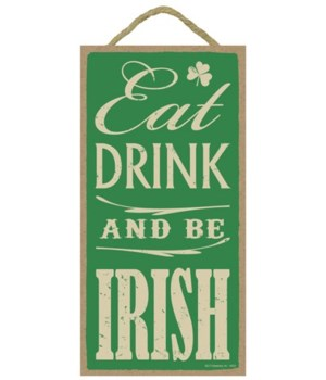Eat, drink & be Irish 5x10