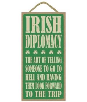Irish Diplomacy:  The art of telling som