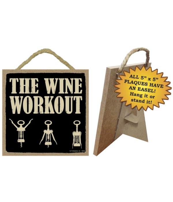 The wine workout 5x10