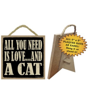 All you need is love…and a cat 5x10