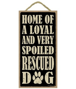 Home of a loyal Rescue Primitive 5x10