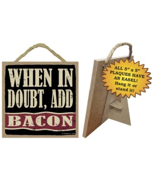 When in doubt, add bacon (with bacon str