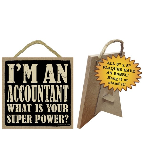 Accountant - What is your super power?  5x5