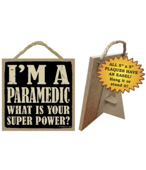 Paramedic 5x5 Plaque
